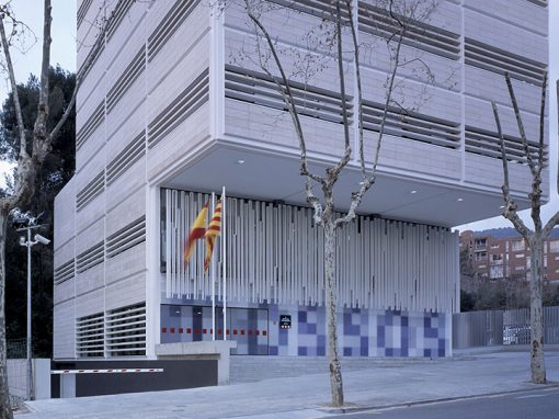 Police Station of Catalan Police in Gracia District