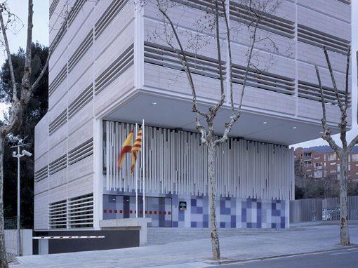 Comissaria dels Mossos d'Esquadra a Gràcia