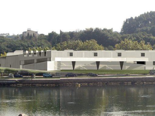 Edificio de las Artes en Pontevedra