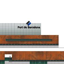 Edifici de la Policia Portuària del Port de Barcelona