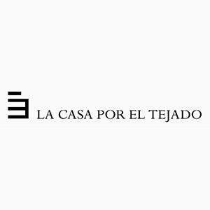 Logotipo de La casa Por el Tejado