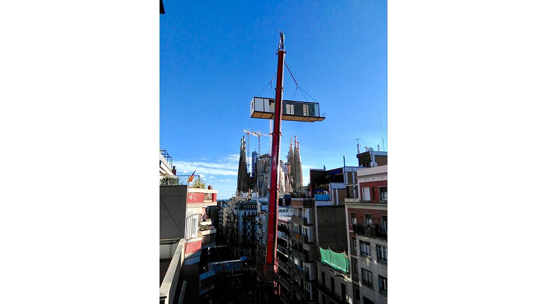 Eco efficient penthouse due to the collaboration with la - La casa por el tejado ...