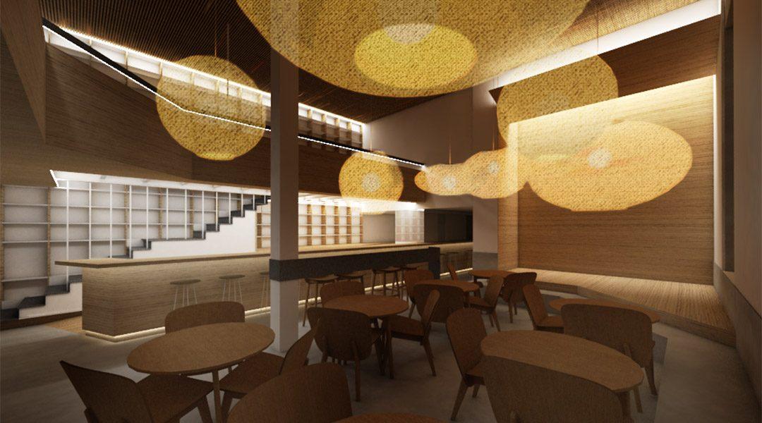 Arranque de las obras del nuevo Bar Café Atelier en Ferrol, A Coruña