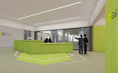 La nueva sede de GalChimia emplazada en el Concello de Touro
