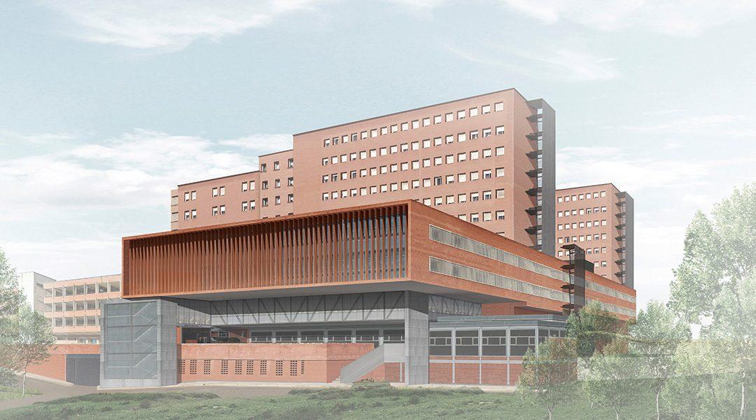 Finalistes del concurs per l'ampliación de l'Hospital Josep Trueta