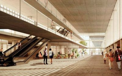 Entre Places Project, competition winner for the new Joan XXIII Hospital of Tarragona
