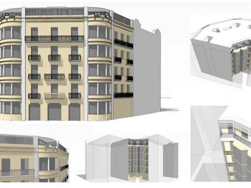 4 new Apartments and 2 Offices in Casp 80 Street | Barcelona