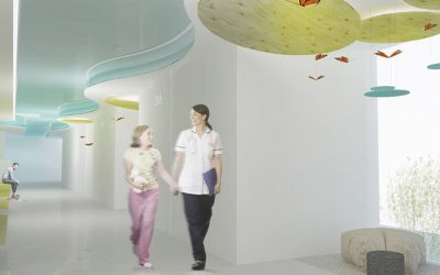 Winners in the reform competition of external consulting rooms of the children's maternal area of Vall d'Hebron Hospital
