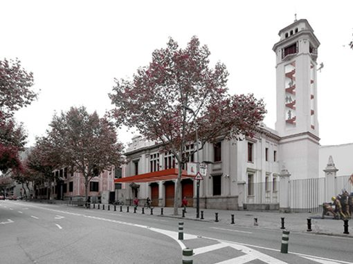 Reform and rehabilitation of the old fire Station in Poble Sec