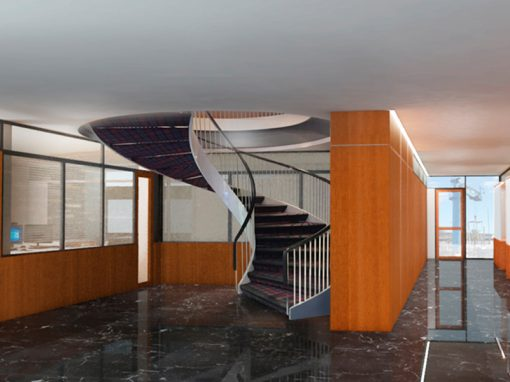 Ground Floor Remodeling of the Real Nautical Club of Barcelona