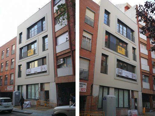 Projecte d'Edifici d'Habitatge Unifamiliar entre mitgeres al C/ Torrent de l'Olla 189 | Barcelona