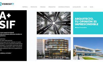 Article about CDB Arquitectura studio in Vidresif
